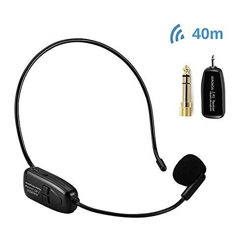 XIAOKOA 2.4G micrófono inalámbrico, la transmisión inalámbrica est