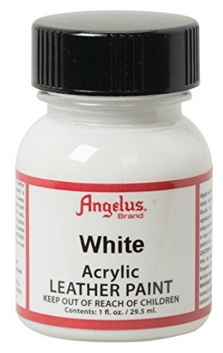 Angelus Acryl-Lederfarbe, Unisex-Erwachsene, 50-1948-A2, weiß, 1 Oz Standard