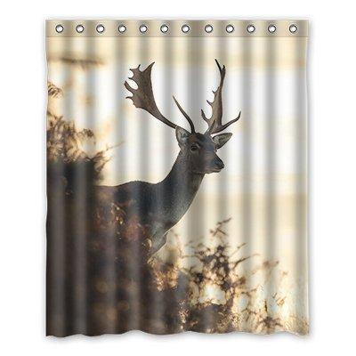 Dalliy Brauch kunst farbe hirsch Wasserdicht Polyester Shower Curtain Duschvorhang 152cm x 183cm