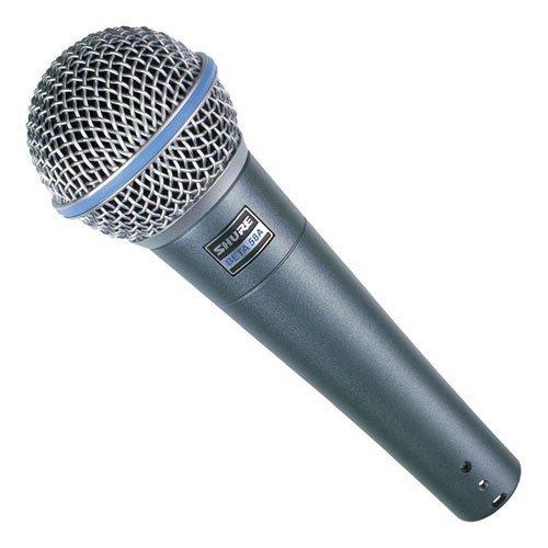 Shure BETA58A microfono professionale per voce live, karaoke