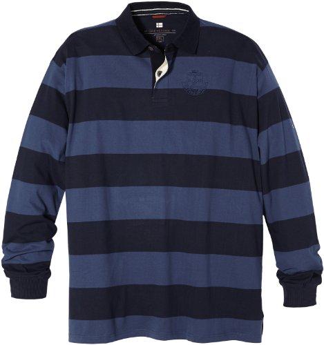 Greystone Sweatshirt 4XL Übergröße Blau gestreift
