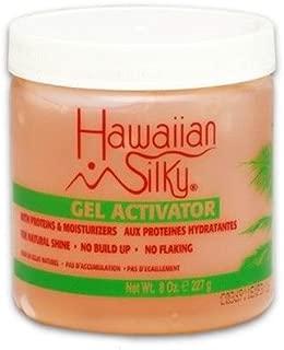 Hawaiian Silky Hawaiian silky gel activator 8 ounce, Pink, 8 Ounce