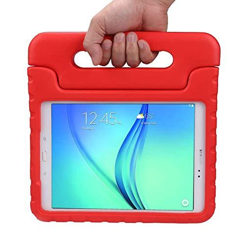 LEADSTAR Custodia Bambini per Samsung Tab A 9.7 Case - Custodia Protettiva Antiurto con Supporto per Samsung Galaxy Tab A 9.7 SM-T550 SM-P550 Tablet (Rosso)