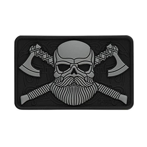 m-tac Morale Patch Bart Skull Taktische Patches 3D PVC Hakenverschlüsse,...