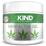 Gel de cáñamo alivio activo para músculos y articulaciones- gran poder calmante fórmula con aceite de cannabis rica en extractos naturales para el alivio de pies, rodillas, espalda, hombros (300ml)