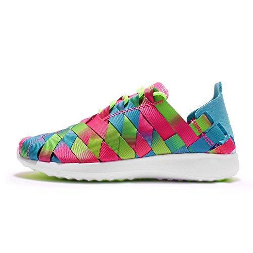 Nike W Juvenate Woven PRM, Zapatillas de Deporte para Mujer, Azul...