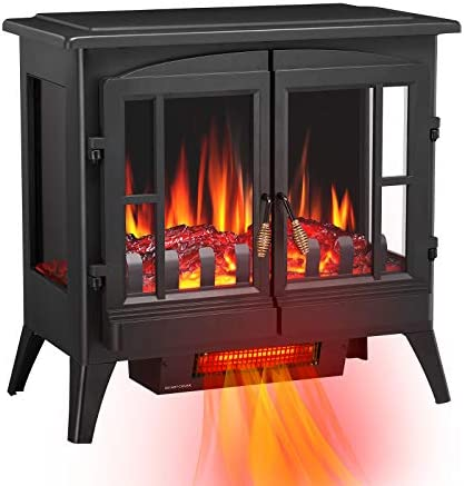 Antratic Star 3D Infrared Electric Fireplace Stove Freestanding Fireplace Heater Adjustable product image