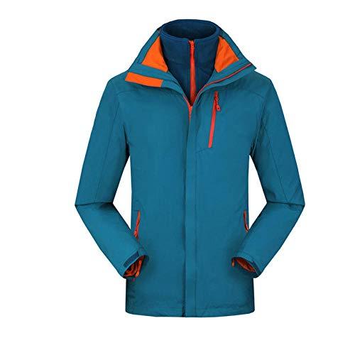 Herren Softshell Jacke,Männer Wandern Softshelljacke,Arbeitskleidung im Freien kältebeständig warme Windjacke Jacken Verdickung Plus Samt-Male H_M #