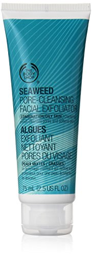 The Body Shop Seaweed Pore-Cleansing Facial Exfoliator, 2.5-Fluid Ounce (Packaging may vary)