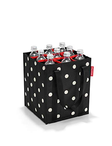 reisenthel bottlebag Flaschentasche 9 Fächer - 24 x 28 x 24 cm mixed dots
