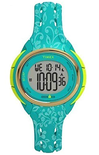 Timex Damen Digital Quarz Uhr mit Silikon Armband TW5M03100