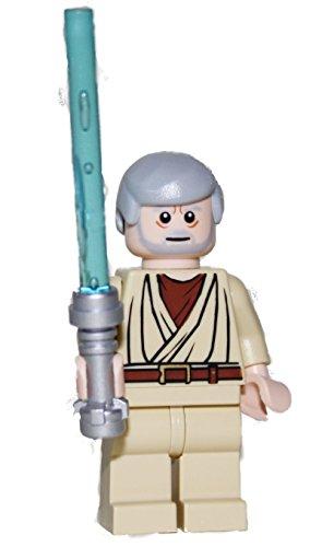 LEGO Star Wars–Figur Obi Wan Kenobi mit Laserschwert blau