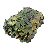 Filet De Camouflage, Camouflage Militaire, Filet De Camouflage Renforce, Camouflage 210D Filet, pour Parasol Chasse Outdoor Army Camo Camouflage(Size:1.5x20M/4.9x65.6ft)