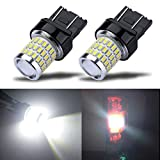7441 bulb - iBrightstar Newest 9-30V Super Bright Low Power 7440 7443 T20 LED Bulbs with Projector Replacement for Back Up Reverse Lights or Tail Brake Lights,Xenon White