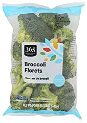 365 by Whole Foods Market, Produce - Packaged Vegetables, Broccoli - Florets, 12 Ounce