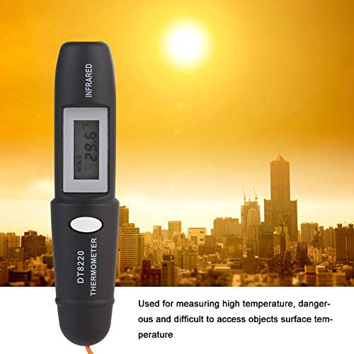 Jeffergarden 1Pc Berührungsloses Mini-Infrarot-Thermometer IR-Temperaturmess-Digital-LCD-Display