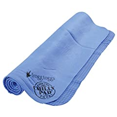 Cools twice as long as microfiber cooling towels while enduring outdoor heat and/or high levels of physical activity Soaking the towel in hot or cold water will allow Chilly Pad to activate quickly and cool up to 30 degrees below ambient air temp Con...
