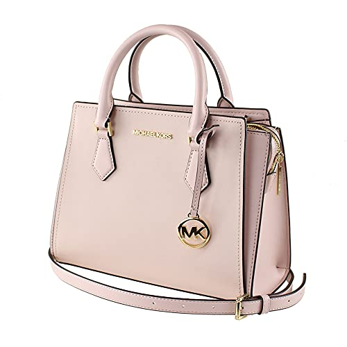 """Saffiano Leather ,Magnetic, Zip Adjustable & Detachable Strap: 21.5""""-23.5"""" Adjustable Strap, Cross-Body Strap, Detachable Strap, Inner Pockets Measurement: 10.5""""W X 8""""H X 4.75""""D. IMPORTANT : Style Made Only For MK Outlet, Does Not Include Duster Bag."""