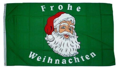 Fahne/Flagge Frohe Weihnachten 90 x 150 cm