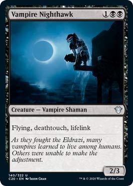 Magic: The Gathering - Vampire Nighthawk - Commander 2020
