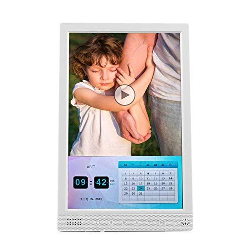 10-Zoll-vertikaler digitaler Fotorahmen - 800 * 1280 Hochauflösende Vollversion 16: 9 IPS-Display-Foto- / Musik- / Videoplayer - Unterstützt USB- und SD-Karte - Auto ON / OFF - Geschenk für ein elek