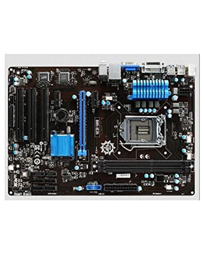 YLYWCG Placa Base de computadora Placa de Escritorio Original Apta para MSI B85-IE35 DDR3 Socket LGA 1150 con Estado sólido Integrado
