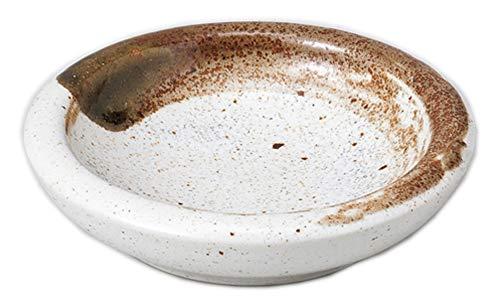 栗刷毛ミニ皿 [ 7.5 x 1.7cm ] 【 珍味 】 【 料亭 旅館 和食器 飲食店 業務用 】