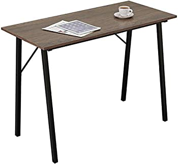 Coavas Portable Computer Study Desk with Metal Frame for Small Spaces