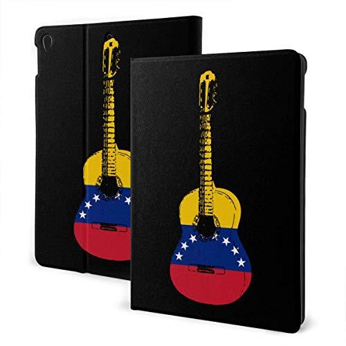 liukaidsfs Venezuela Flag Guitar Art Slim Lightweight Smart Shell Stand Cover Case for iPad Air3 & pro (10.5-Inch,Auto Wake/Sleep)