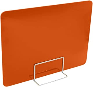 Home Improvement,Desk Privacy Divider Office Divider Partition Desk Separator Panel For Offices Anti-Spray Isolation Baffle Student Desk Exam Baffle Desk Screen Partition Baffle Orange