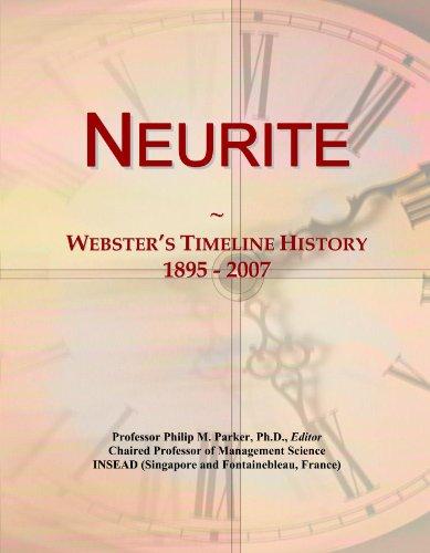 Neurite: Webster's Timeline History, 1895 - 2007