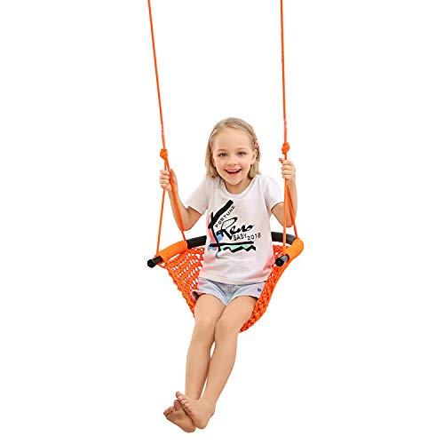 JKsmart Swing Seat for Kids Heavy Duty Rope Play Secure Children Swing Set,Perfect for...