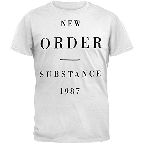 Blue Star - Camiseta - Hombre - (Camiseta) New Order - Substance 1987