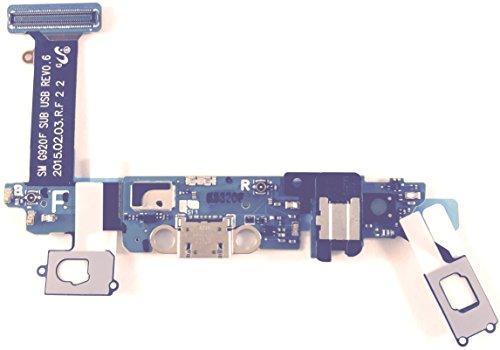 100% Producto nuevo ORIGINAL Samsung ORIGINAL de G920F Galaxy S6 puerto de carga conector USB y conector de Audio Flex y micrófono, (no Compatible con S6 Edge g925) repuesto para teléfono móvil, Samsung número de pieza: GH96-08275A - por qué comprar copy o Remodelado piezas y riesgo de dañar tu bonita figura y auriculares para cualquier caros, acrílico ITSTEK el Reino Unido es piezas originales Specialist.