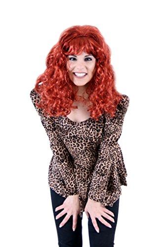 Peggy peluca y disfraz de leopardo - Multi - small-medium