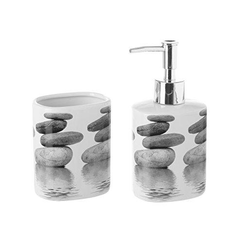 Dream Hogar Juego de baño Stones (Set baño Ceramica)