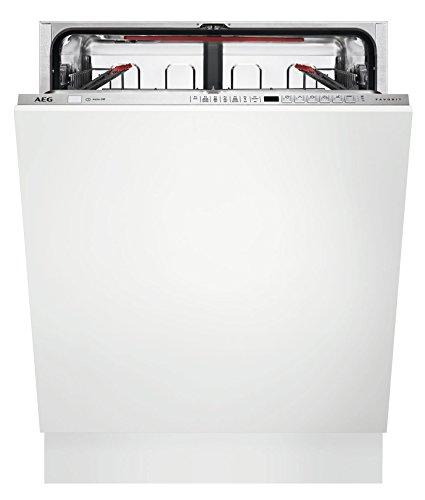 AEG FSE73600P Vollständig integrierbar, 13 Stück, A+++ Spülmaschine, Gesamtgröße (60 cm), Edelstahl, LCD, kalt, warm, 13 Teile