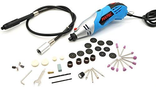 Fixtec® Esperto 230V 170W Utensili Rotanti,Utensile Multifunzione Mini Die Kit smerigliatrice, 40 Accessori