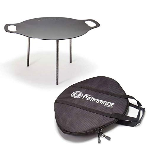 Petromax Grill- und Feuerschale fs38 Set mit Tasche für Outdoor-Cooking Lagerfeuer Camping
