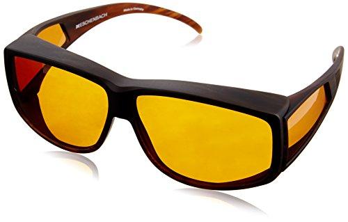 Eschenbach Filterbrille Wellness Protect Überziehbrille Unisex Größe 61/12, 65% Tönung