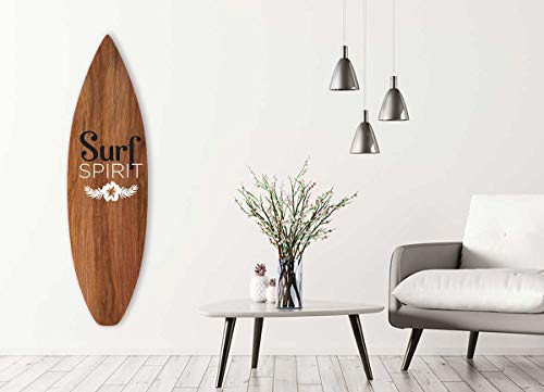 HXA Deco – Tabla de surf decorativa, Multi Elección, decoración de pared, tabla de surf Spirit, 146 x 42 cm