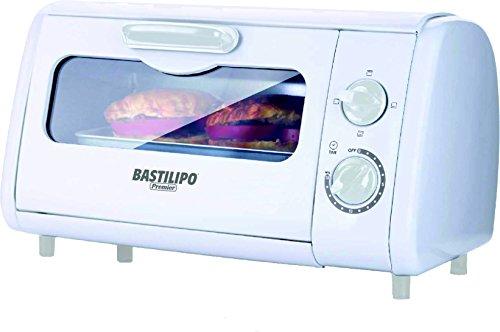 Bastilipo Sicilia Mini Horno Tostador, 800 W, 8 litros, Blanco