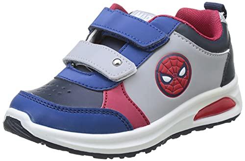 CERDÁ LIFE'S LITTLE MOMENTS Spiderman Kinderschuhe Licht | LED Schuhe Kinder Jungen mit Offizieller Lizenz, Rot, 23 EU