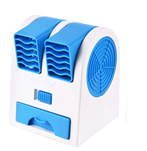 BXT Portable Air Conditioner Fan Dual Bladeless Safe Mini Personal Fan...