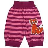 Pumphose Schlupfhose Babyhose elastischer Bund Handmade Fuchs, Größe:110/116