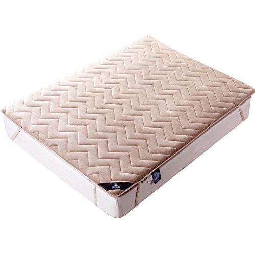 MMM- Épaississement Matelas Simple Polyester Individuel Double Étudiant Pad 1.5/1.8m Lit Garder Chaud Confortable Respirant Respirant Santé Protection de L'environnement (taille : 180 * 200cm)