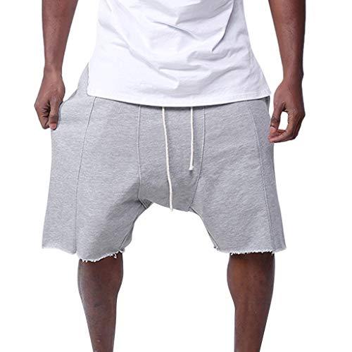 FRAUIT Pantaloni Uomo Elegante Cavallo Basso Pantaloncini Uomini Palestra Cotone Pantaloncino Ragazzo Calcio Shorts Running Pantalone da Lavoro Estivo Bermuda Cargo Pantaloni per Il Tempo Libero