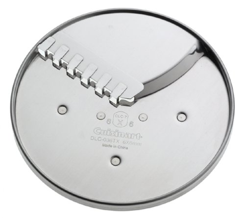 Cuisinart TXAMZ 6-by-6mm Fruit, Vegetable and French Fry Disc, Fits 14-Cup Processor