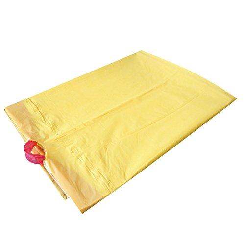 Abfallsack mit Zugband 120 l gelb 50 Stück