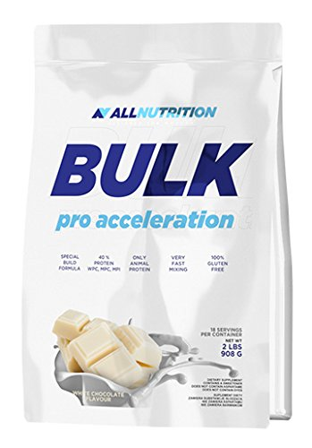 All Nutrition Bulk Pro Acceleration Carb-Protein Complex Powder, White Chocolate